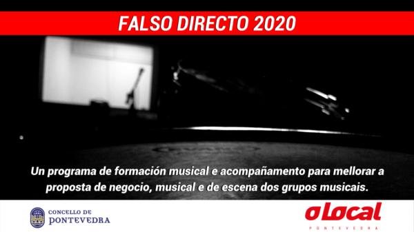"""Chega """"Falso Directo"""", unha acción formativa cun saldo de 250€ por grupo"""