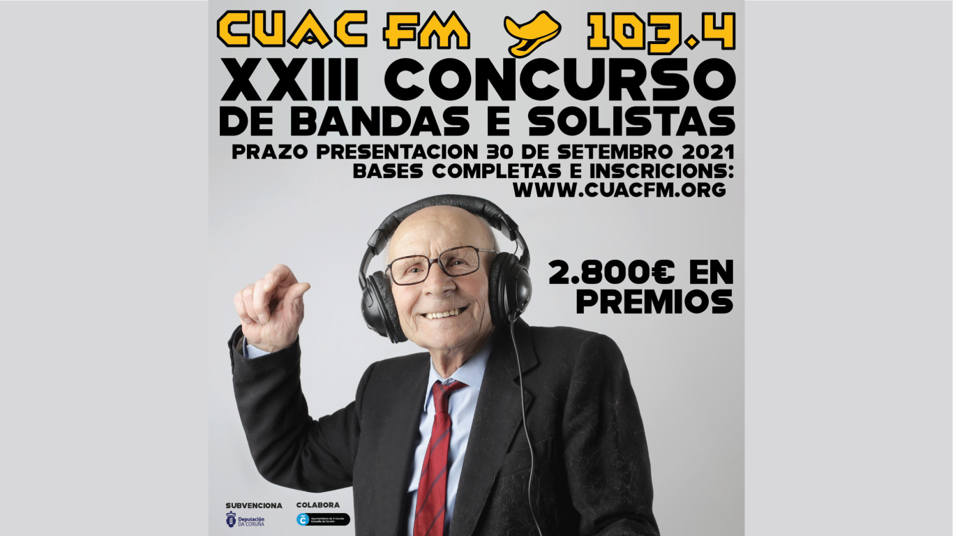 XXIII CONCURSO CUAC FM DE BANDAS E SOLISTAS